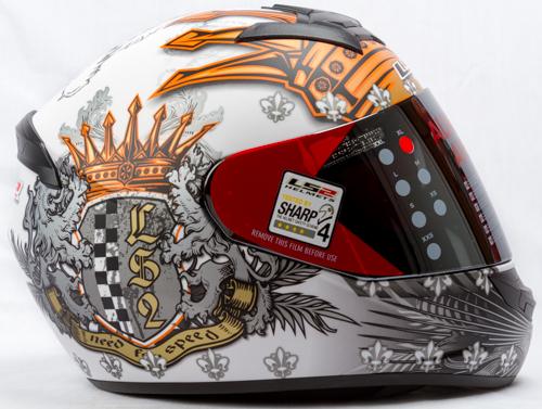 LS 2 FF 352 Crown Matt White Side