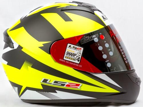 LS 2 FF 352 Dyno Black Yellow Fluo Matt Side
