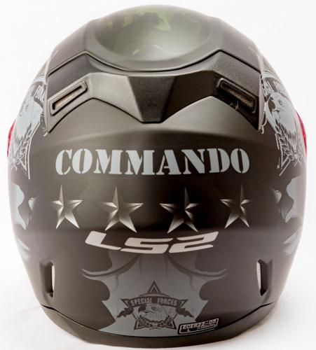 LS 2 FF 391 Commander Matt Black Back