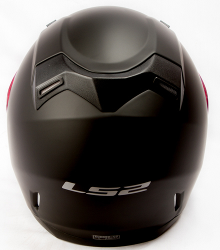 LS 2 FF 391 Solid Matt Black Back