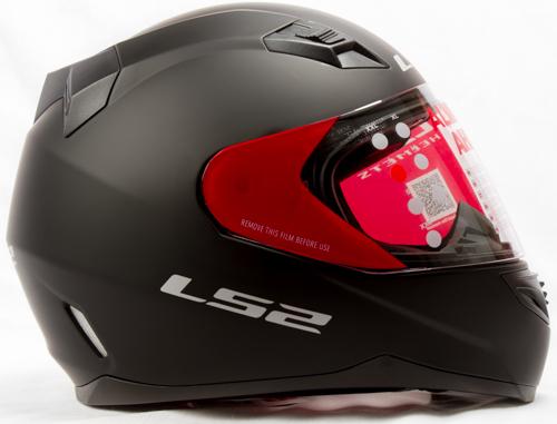 LS 2 FF 391 Solid Matt Black Side