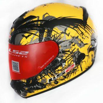 ls2 352 phobia matt yellow 3