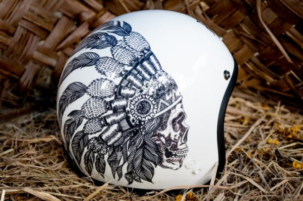 Tribal Soul Custom Helmet Design side