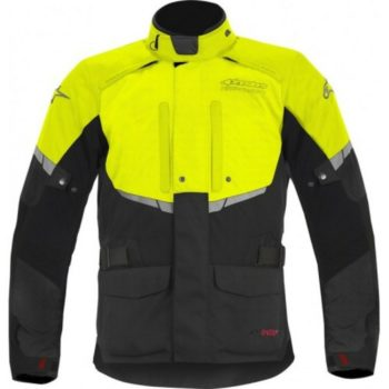 Alpinestars Andes Drystar Black Fluorescent Yellow Jacket