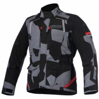 Alpinestars Andes V2 Drystar Black Camo Red Jacket