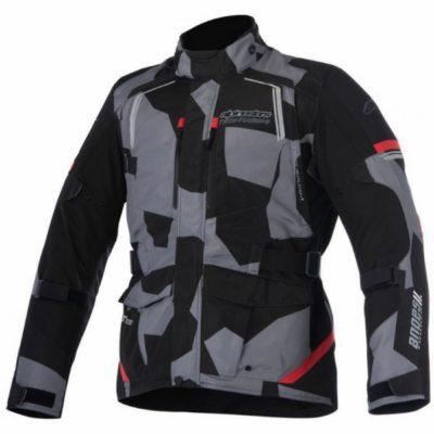 Alpinestars Andes V2 Drystar Black Camo Red Jacket