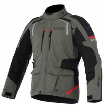 Alpinestars Andes V2 Drystar Military Green Black Red Jacket