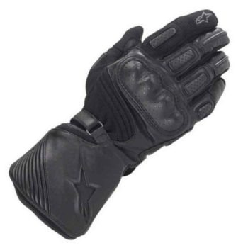Alpinestars Apex Drystar Black Riding Gloves 2