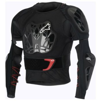 Alpinestars Bionic Tech Black White Red Jacket 1