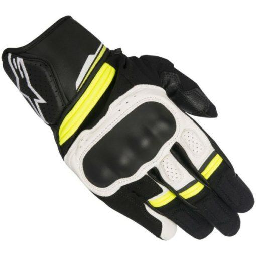 Alpinestars Booster Black White Fluorescent Yellow
