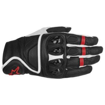 Alpinestars Celer Gloves Black White Red Riding Gloves