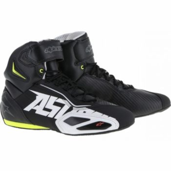 Alpinestars Faster 2 AST Black White Yellow Red Shoes