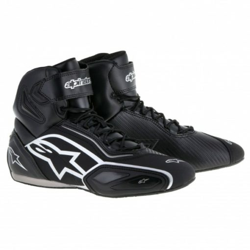 Alpinestars Faster 2 Black Silver Shoes