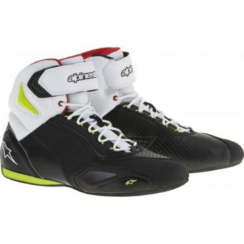 Alpinestars Faster 2 Black Yellow Red Shoes
