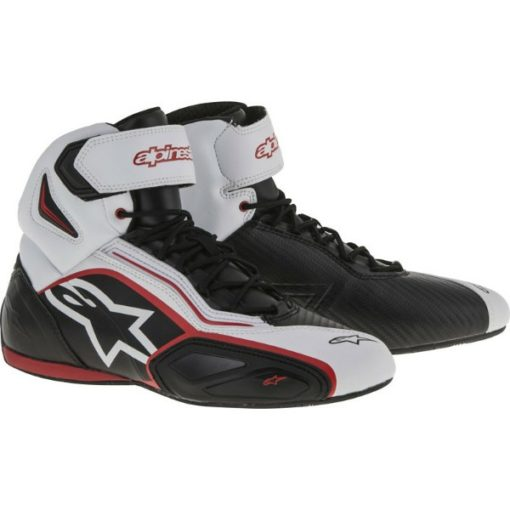 Alpinestars Faster 2 Vented Black White Red Shoes