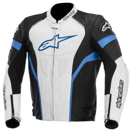 Alpinestars GP Plus R Leather Black White Blue Jacket