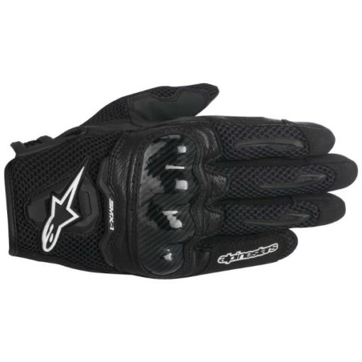 Alpinestars SMX 1 Air Black Riding Gloves 1