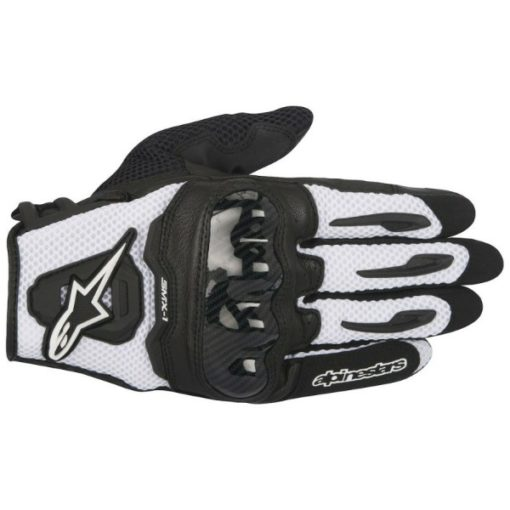 Alpinestars SMX 1 Air Black White Riding Gloves