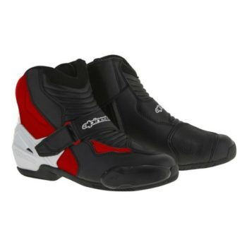 Alpinestars SMX 1 R Black White Red Boots