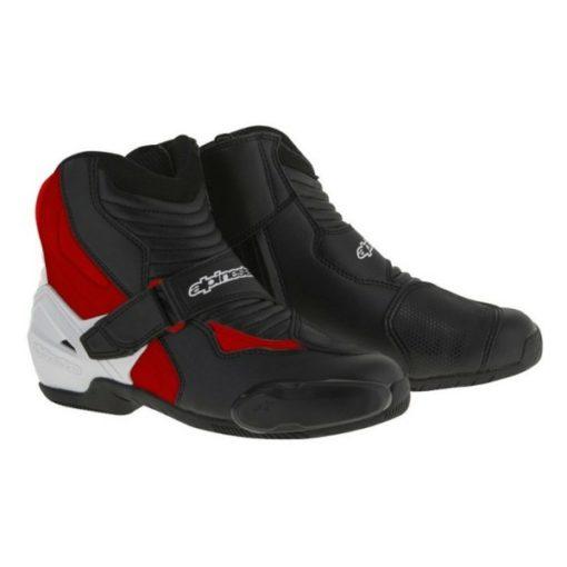 Alpinestars SMX 1 R Black White Red Boots