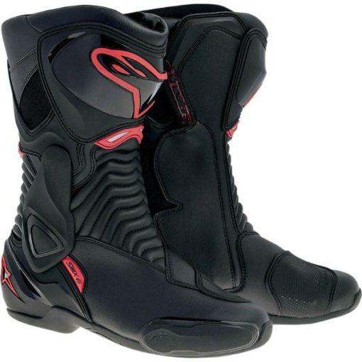 Alpinestars SMX 6 Black Red Boots