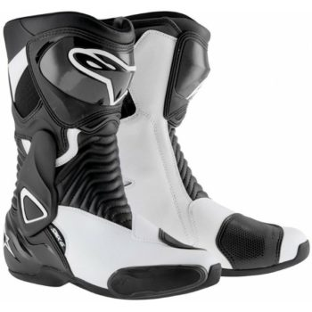 Alpinestars SMX 6 Black White Boots