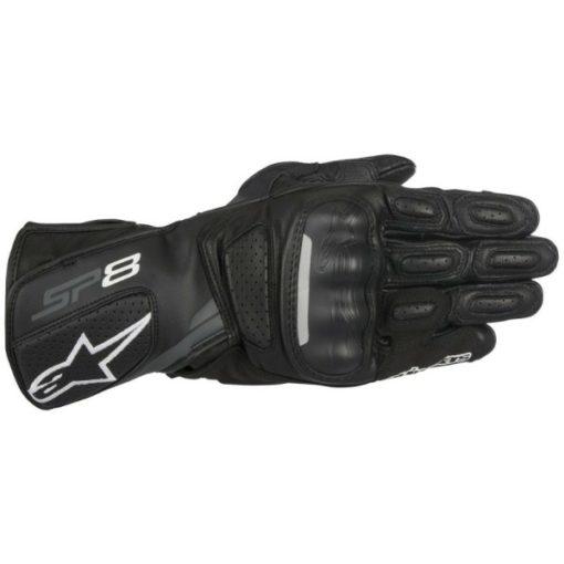 Alpinestars SP8 V2 Black Riding Gloves