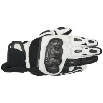 Alpinestars SPX Air Carbon Black White Riding Gloves 1