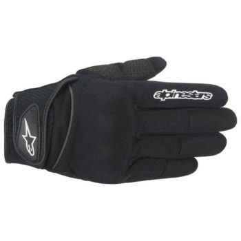 Alpinestars Spartan Black Riding Gloves 1