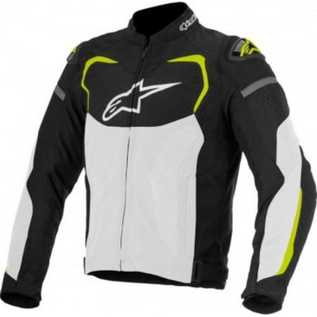 Alpinestars T GP Pro Air Black White Fluorescent Yellow Jacket