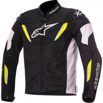 Alpinestars T GP R V2 Air Black White Fluorescent Yellow Jacket