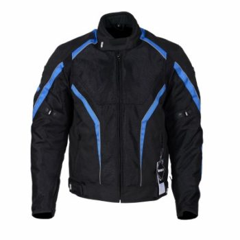 BBG I Ride I Live Black Blue Riding Jacket 1