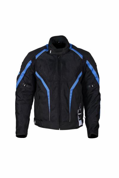 BBG I Ride I Live Black Blue Riding Jacket 1