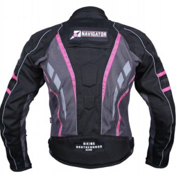 BBG Navigator Lady Pink Riding Jacket 2