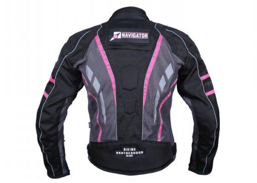 BBG Navigator Lady Pink Riding Jacket 2