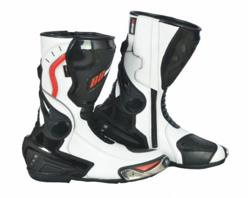 BBG White long boots 1