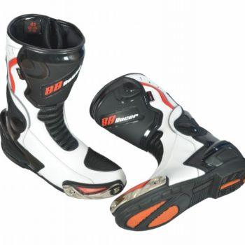 BBG long White boots 3