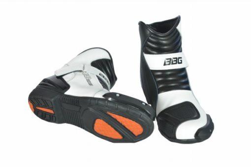 BBG white short boots 2