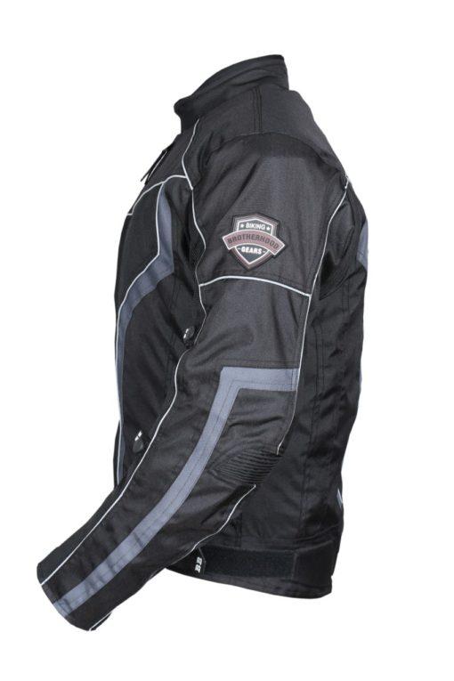 BBG xPlorer Black Grey Riding Jacket 2