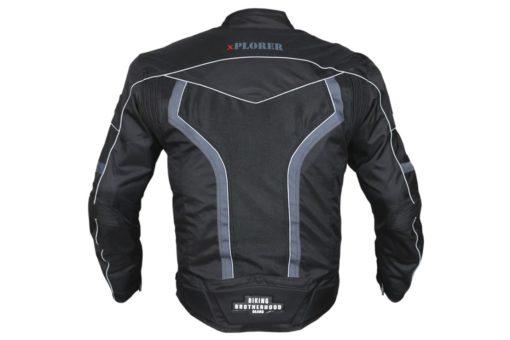 BBG xPlorer Black Grey Riding Jacket 3