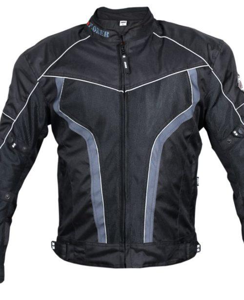 BBG xPlorer Black Grey Riding Jacket