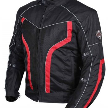 BBG xPlorer Black Red Riding Jacket 1