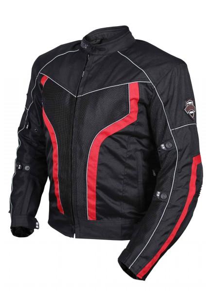 BBG xPlorer Black Red Riding Jacket 1