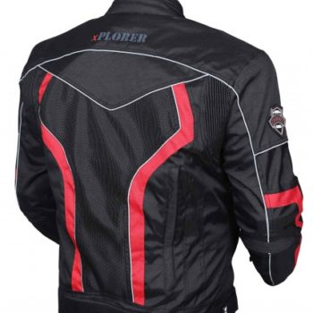 BBG xPlorer Black Red Riding Jacket2