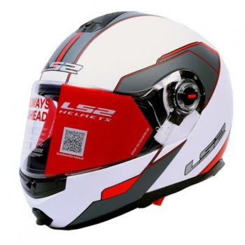 FF386 MIDNIGHT WHITE RED MATT
