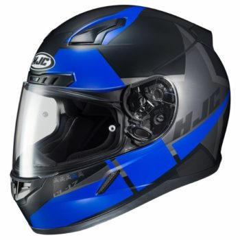 HJC CL 17 Boost MC2SF Matt Black Blue Full Face Helmet