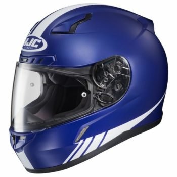 HJC CL 17 Streamline MC2F Matt Blue White Full Face Helmet 1