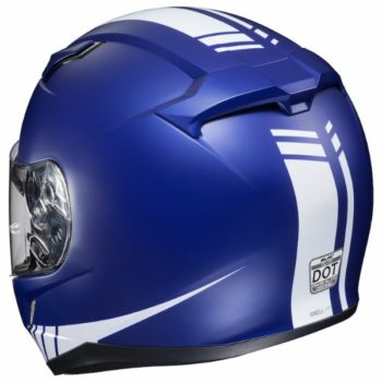 HJC CL 17 Streamline MC2F Matt Blue White Full Face Helmet 2