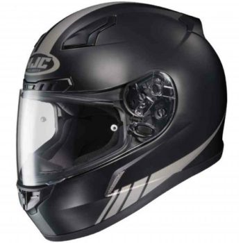 HJC CL 17 Streamline MC5GF Matt Black Grey Full Face Helmet 1 1