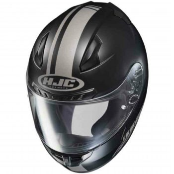 HJC CL 17 Streamline MC5GF Matt Black Grey Full Face Helmet 2 1